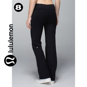 Lululemon Black Yoga Flare Pants